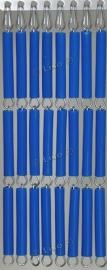 Effen Vliegengordijn Blauw 08 (doe-het-zelf-pakket)