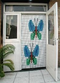 Vlinders vliegengordijn 003 (doe-het-zelf-pakket)
