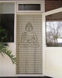 Boeddha vliegengordijn 117 klein (doe-het-zelf-pakket)