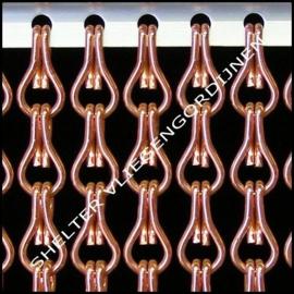 5 meter losse Kriska ketting kleur 10 Koper
