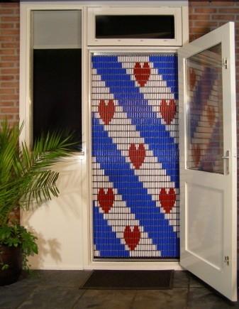 Friesche Vlag vliegengordijn 056 (doe-het-zelf-pakket)