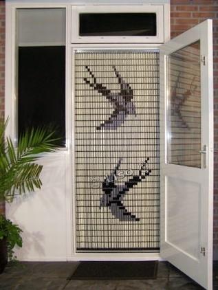 Zwaluwen vliegengordijn 012 (doe-het-zelf-pakket)