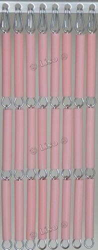 Effen Vliegengordijn roze 04 (doe-het-zelf-pakket)