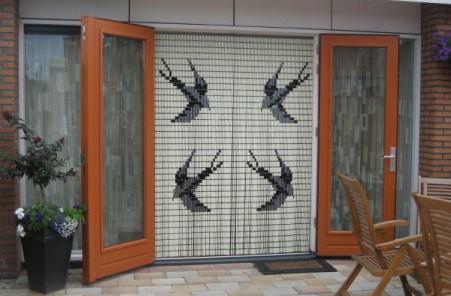 vliegengordijn voor puien en openslaande deuren