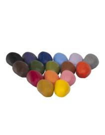 Crayon Rocks Zestien krijtjes in rood zakje