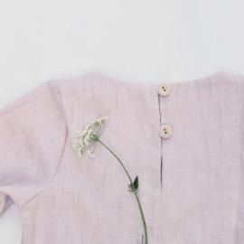 Simply Grey Kids linnen jurk powder pink