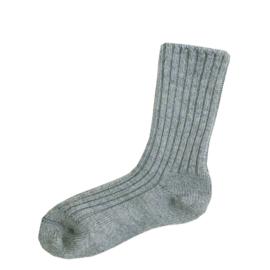Joha wollen sokken licht denim melange