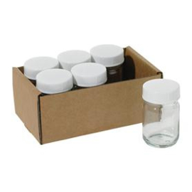 Stockmar glazen potjes 50 ml set van 6