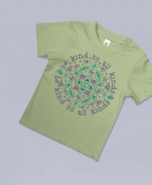 Soul Flower T-shirt kind Be Kind to all Kinds