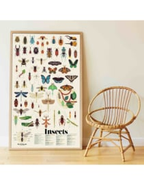 Poppik Stickerposter Insecten