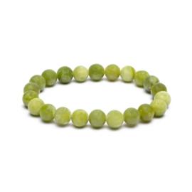 Armbandje Groene Jade
