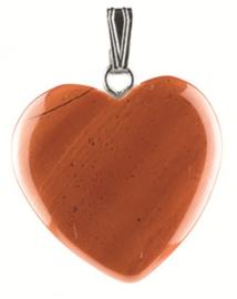 Jaspis hangertje hart