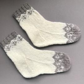Villa Knits Wollen Sokken handgebreid noors maat 33-34