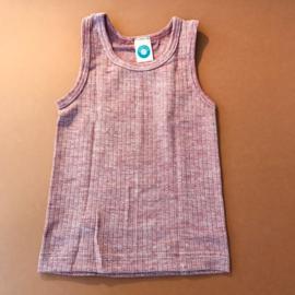 Cosilana wolzijdekatoenen hemd burgundy