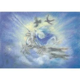 Ansichtkaart Odin uit de Edda