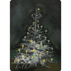 Kapitein Kalk - Ansichtkaart Kerstboom
