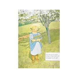 Elsa Beskow Ansichtkaart Maja's wijsje