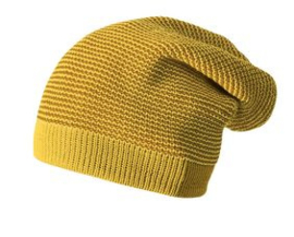 Disana Long Beanie gold