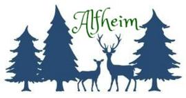Alfheim amulet Den met barnsteen