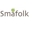 Smafolk jersey broek met  grote appelprint, 86-92 en 92-98