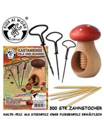 Kids at work Kastanje Knutselset paddenstoel