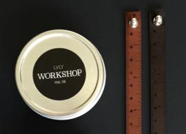 Ilovehandles leather wrist ruler tan