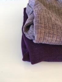 Cosilana wolzijdekatoenen broekje paars