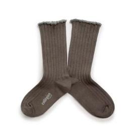 Collégien  lange sokken Delphine Brun de Terre