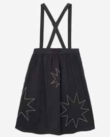 Nadadelazos woman Suspender Skirt Black Stars