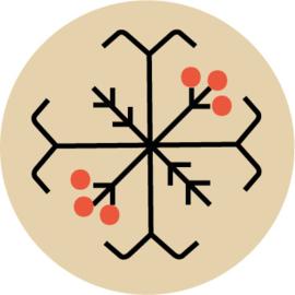 Kalina - bijenwaskaarsje 8
