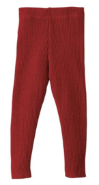 Disana wollen leggings bordeaux