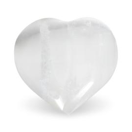 Seleniet knuffel hart wit