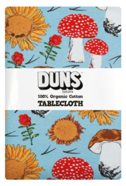 Duns Sweden Tafelkleed Mushrooms and Sunflowers