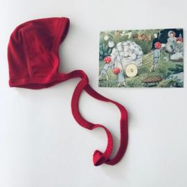 Cosilana wolzijden koordmutsje rood