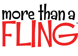 More than a fling t-shirt paars