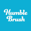 Humble Brush Aardbei kindertandpasta