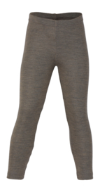 Engel Natur wolzijden leggings walnut