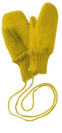 Disana handschoenen van gekookte wol curry