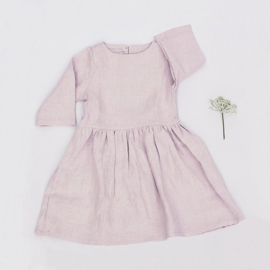 Simply Grey linnen damesjurk dusty pink, L