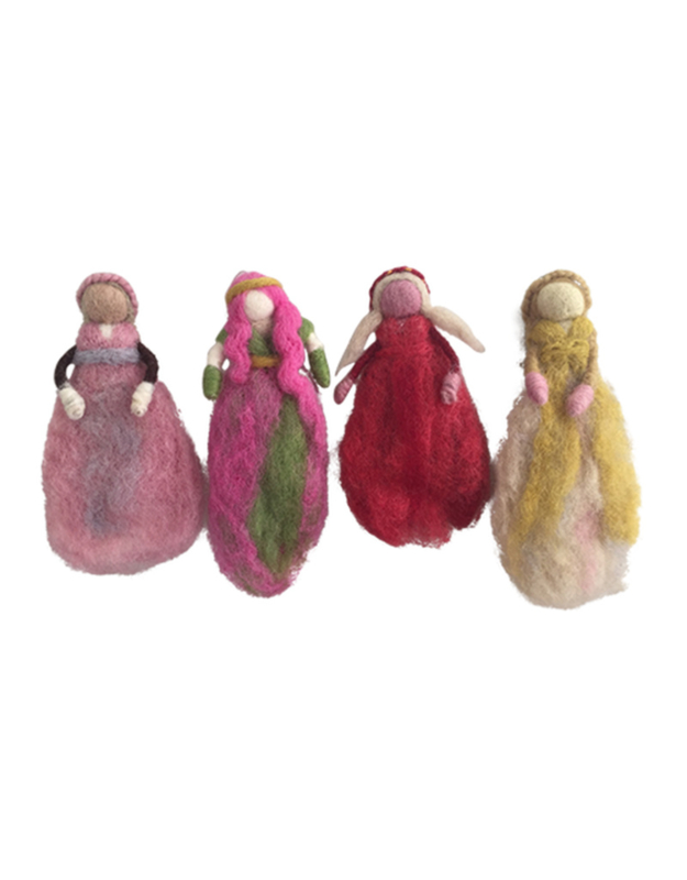 Papoose Toys Feetjes, set van vier