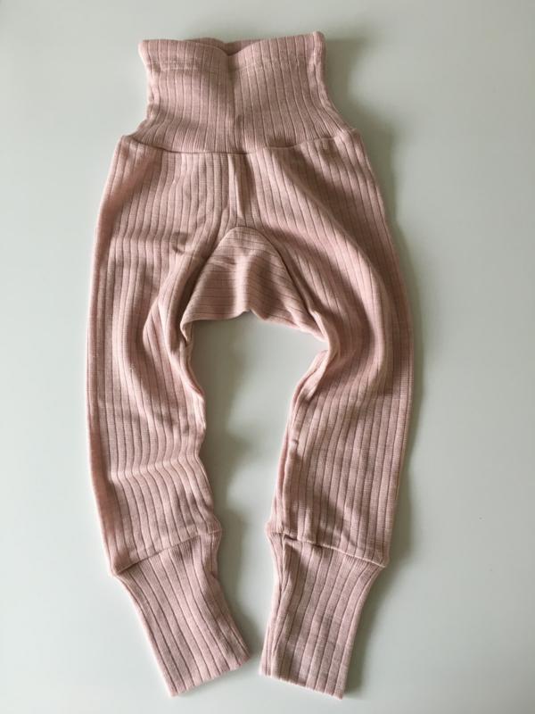 Cosilana wolzijdekatoenen broekje roze