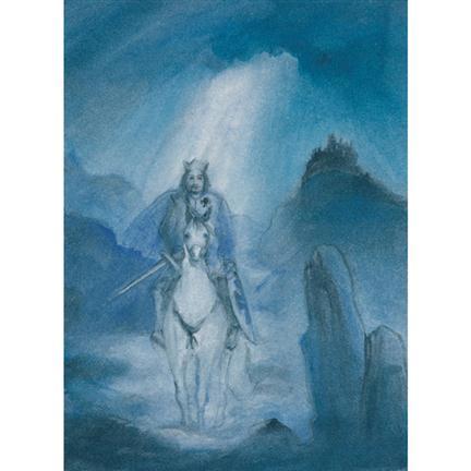 Ansichtkaart Koning Arthur