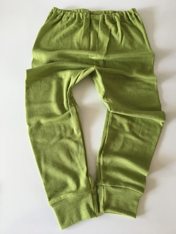 Cosilana wolzijden long johns groen