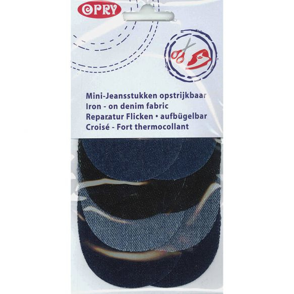 Opry Knielap opstrijkbaar jeans