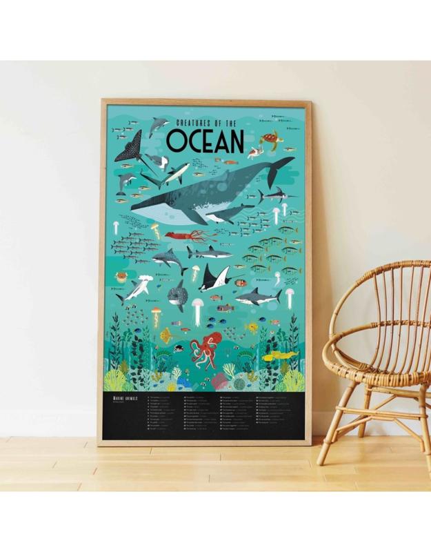 Poppik Stickerposter Oceaan