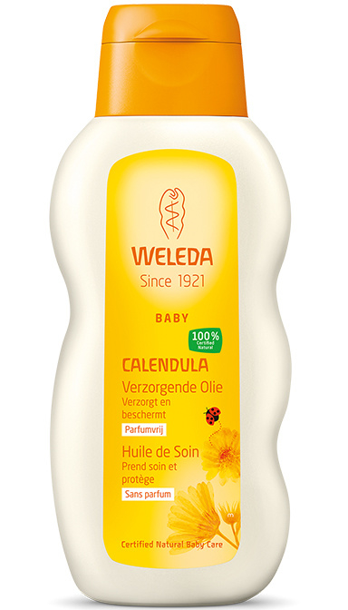Weleda Calendula baby verzorgende olie