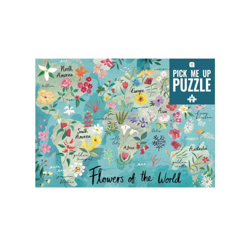 Dotcom Puzzle Flowers of the World