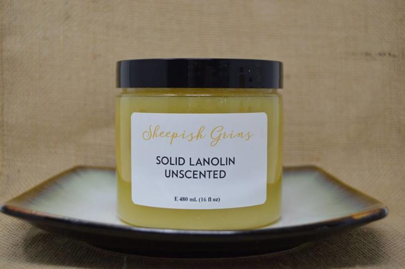 Sheepish Grins vaste lanoline met een geurtje