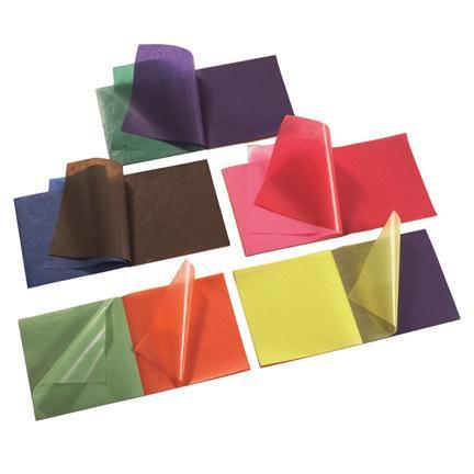 Vliegerpapier  voor transparanten  16 bij 16 cm