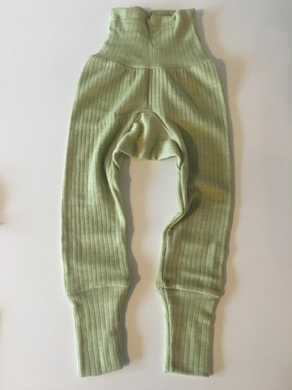 Cosilana wolzijdekatoenen broekje groen
